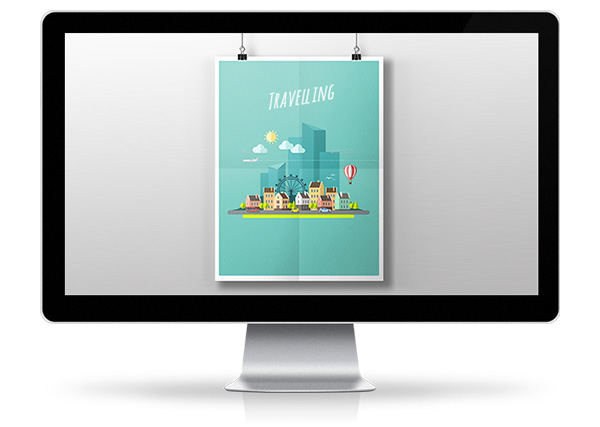 Graphism - Serial of posters for a freelance event